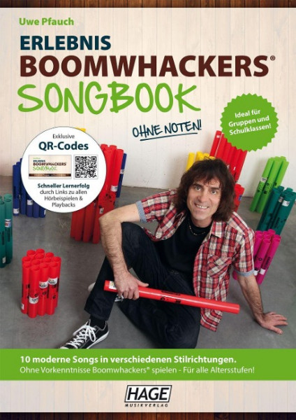 Erlebnis Boomwhackers® Songbook (mit MP3-CD)
