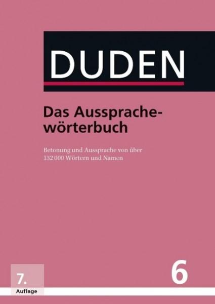 Duden 06 Das Aussprachewörterbuch