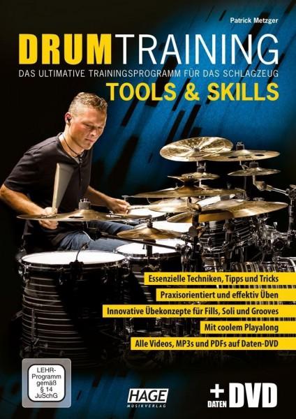 Drum Training Tools & Skills (mit Daten-DVD)