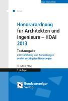 Honorarordnung für Architekten und Ingenieure - HOAI
