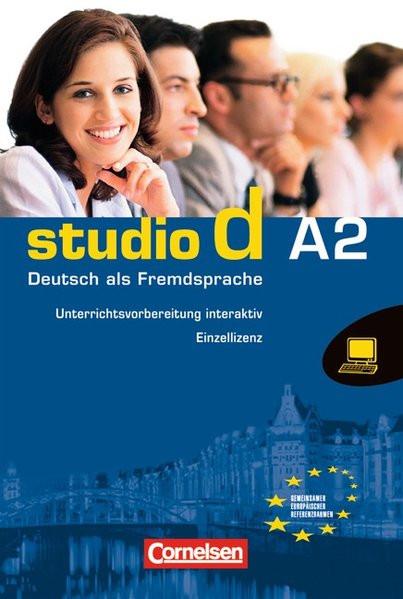 Studio d - Grundstufe: A2: Gesamtband - Unterrichtsvorbereitung interaktiv auf CD-ROM: Unterrichtspl